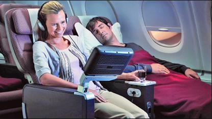 盘点航空市场8个最赞的豪华经济舱