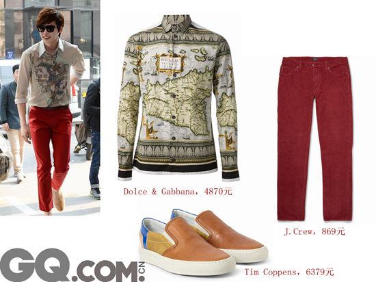 刘海暖男系的穿衣法——复杂图案