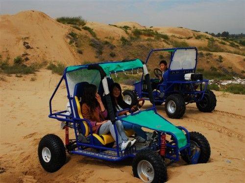 沙滩卡丁车