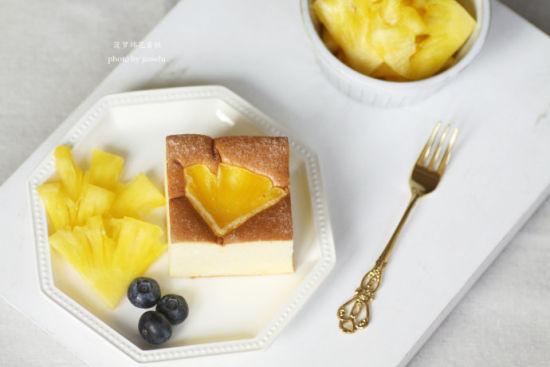 菠萝棉花蛋糕