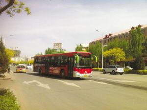 公交车正在变道