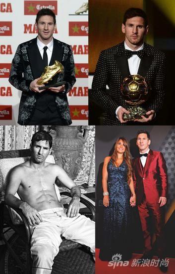 梅西深得Dolce&Gabbana品牌的喜爱
