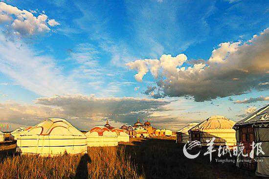 蒙古汉城的早晨( 东田 摄)