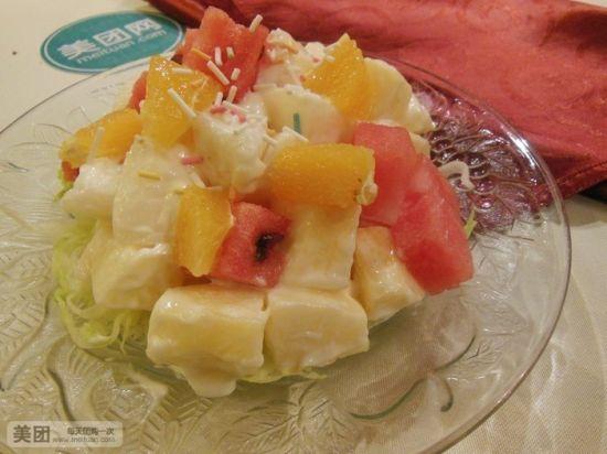 水果缤纷沙拉