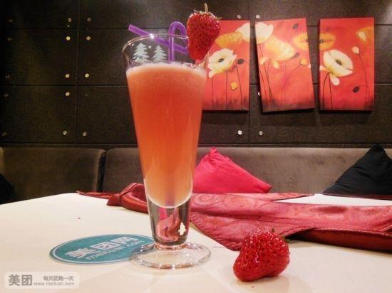 梦幻草莓汁