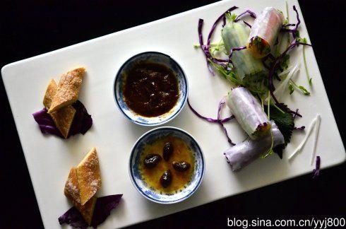越南米皮素菜卷
