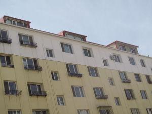 居民楼上加盖的阁楼