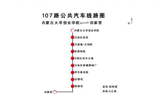 开通两条线路: 从6月10日新开通两条线路107路,108路公交车,把公交车