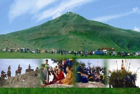 圣山宝格德乌拉祭祀民俗盛会
