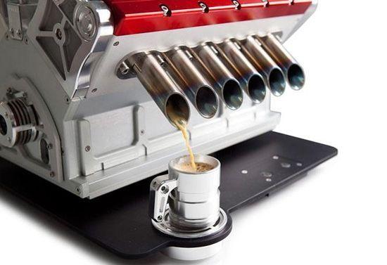 炫酷的V12咖啡机
