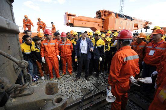 内蒙古呼和浩特铁路局开展救援实战演练