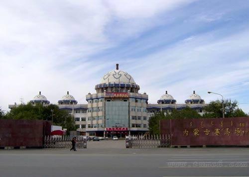 亚洲目前最大的赛马场之一内蒙古自治区赛马场 新浪内蒙古旅游 新浪