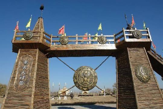 塞上青城呼和浩特璀璨的明珠蒙古风情园