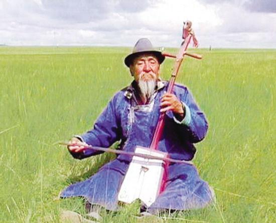 蒙古族老者演奏mat