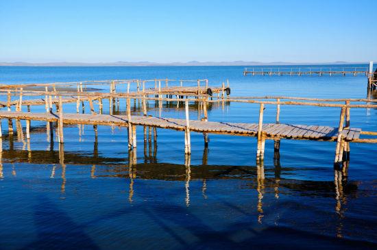 迷人的达里湖