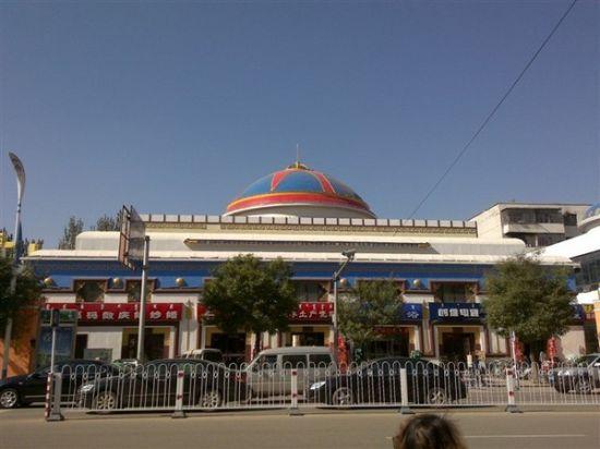 蒙元文化街特色造型蒙古包