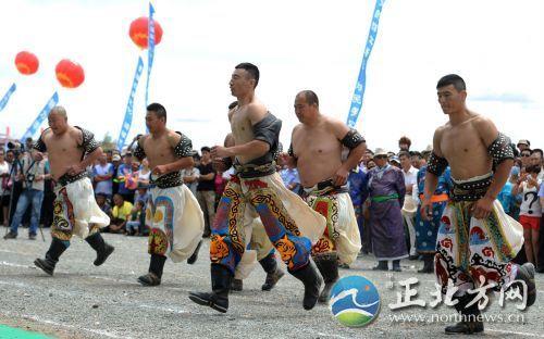 内蒙古赤峰市巴林右旗第23届那达慕大会开幕