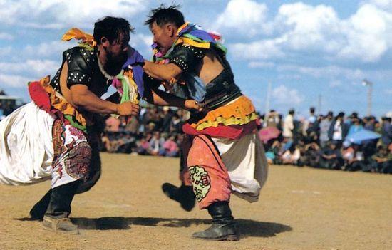 蒙古式摔跤