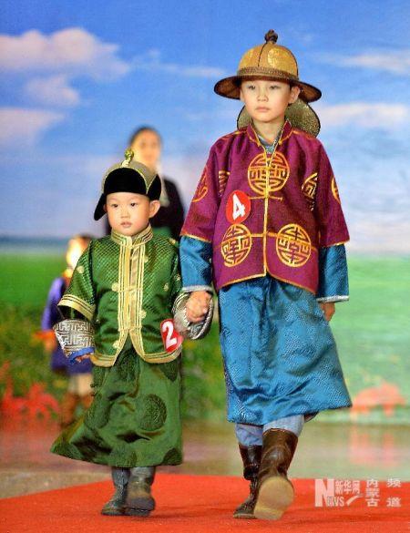 蒙古族服饰—民族服饰