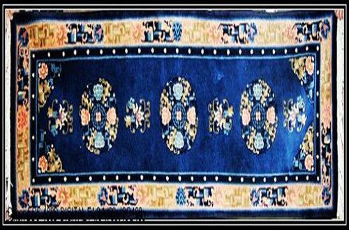 编织手工地毯在中国已有两千