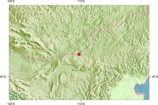 达尔罕茂明安联合旗发生3.8级地震
