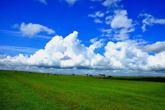 内蒙古大草原高清图片