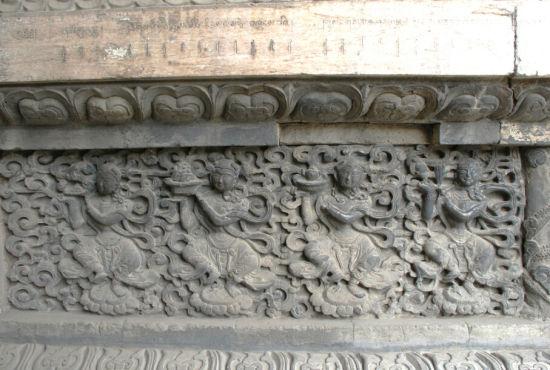 五塔寺壁雕