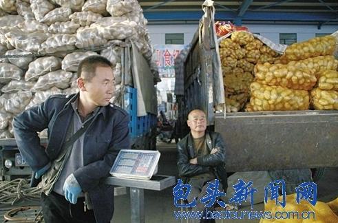 今年的土豆又不好卖了