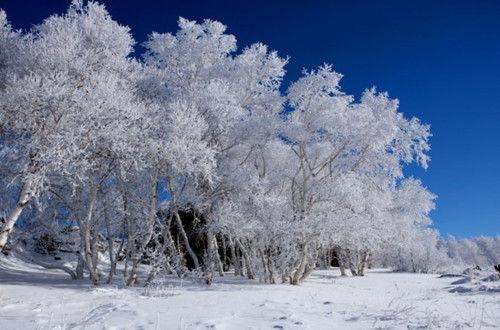 阿斯哈图冬季景观