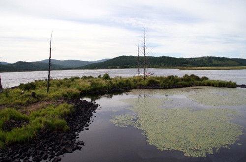 水湖,四季风景美