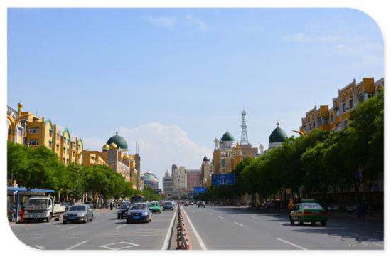 伊斯兰风情街 (新浪旅游配图 韩国成摄影)