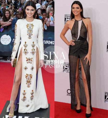Kendall Jenner红毯秀