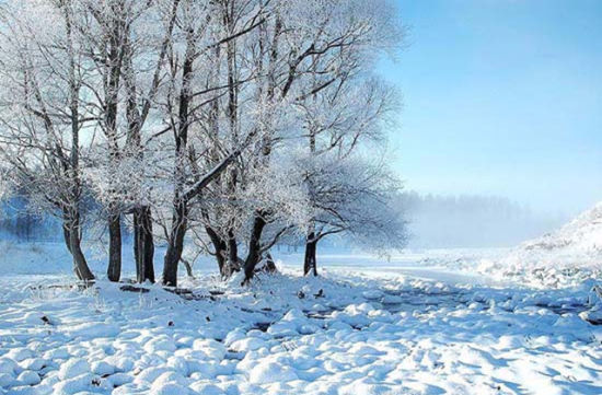 冬季阿尔山