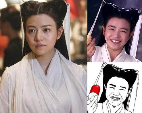 陈妍希被调侃包子脸
