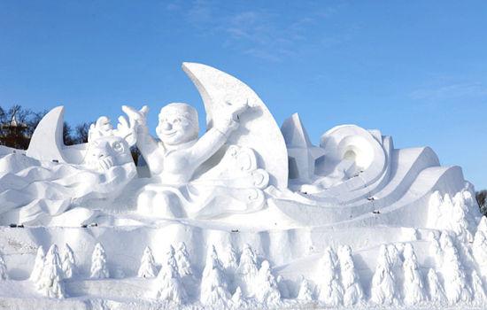 冰雪世界阿尔山