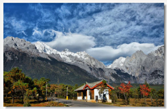 玉龙雪山旅游