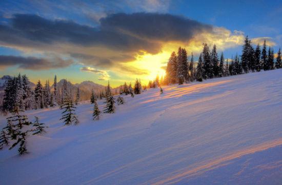 洁白浪漫的冰雪之旅