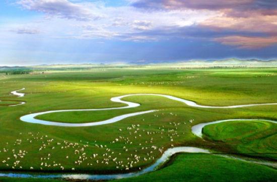 锡林河风光