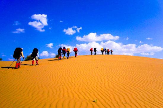 2017年杭锦旗沙漠旅游