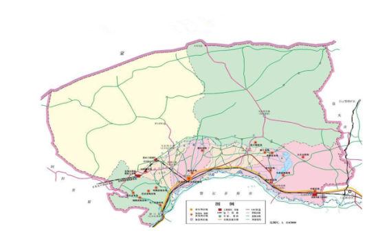 巴彦淖尔地图