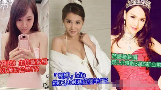 香港4女星卷入跨境卖淫网站案