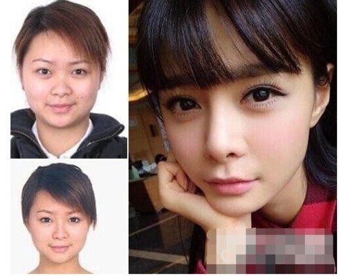 杜海涛绯闻女友沈梦辰成名前后照差别大