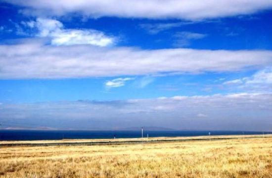 阿拉善奇异的大漠风光