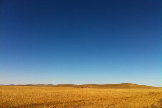 白音敖包的沙地