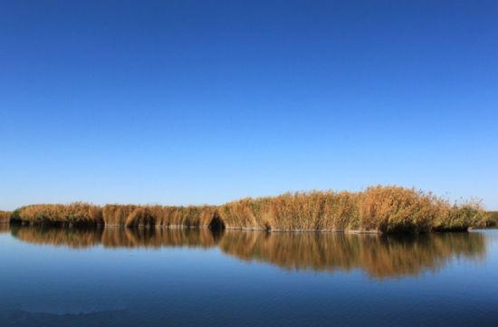 三盛公国家水利风景区一角-走近浓郁的民族文化传承之地 感受三盛