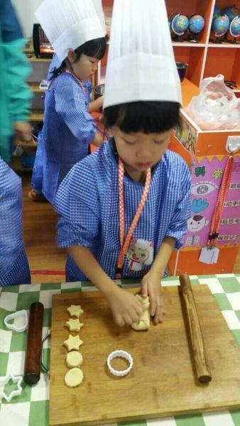 幼儿园区域烘焙坊