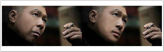 剪纸人物侧脸-网友神P图恶搞 雾霾脸 冯小刚各种躺枪