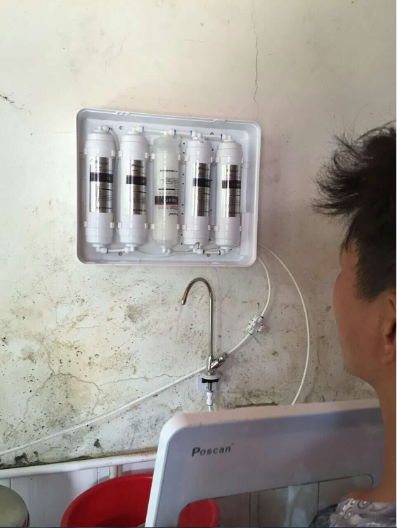 派森净水器安装示意图分享展示