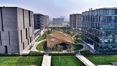 位于上海张江高科技园区