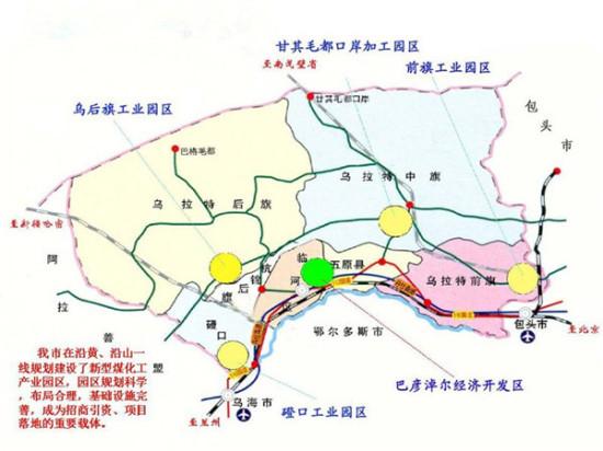 兴安盟旅游地图
